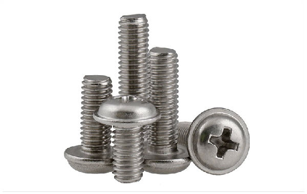 Cross belt screw